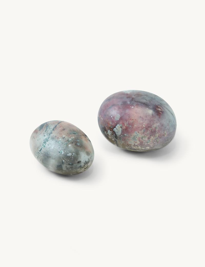 Kathleen Whitaker Medium and Small Porcelain Spheres