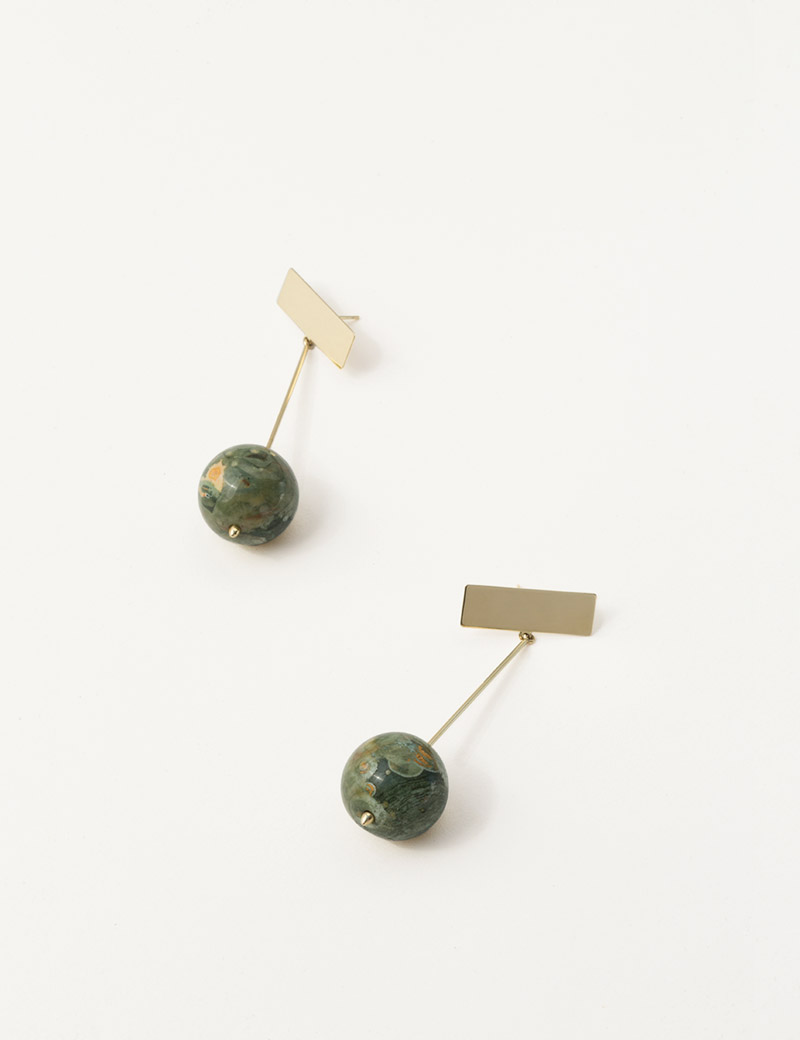 Kathleen Whitaker Rhyolite Drop Earrings