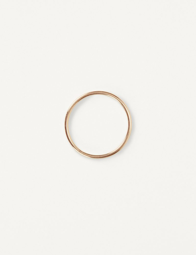 Kathleen Whitaker Rose Gold Small Tube Band