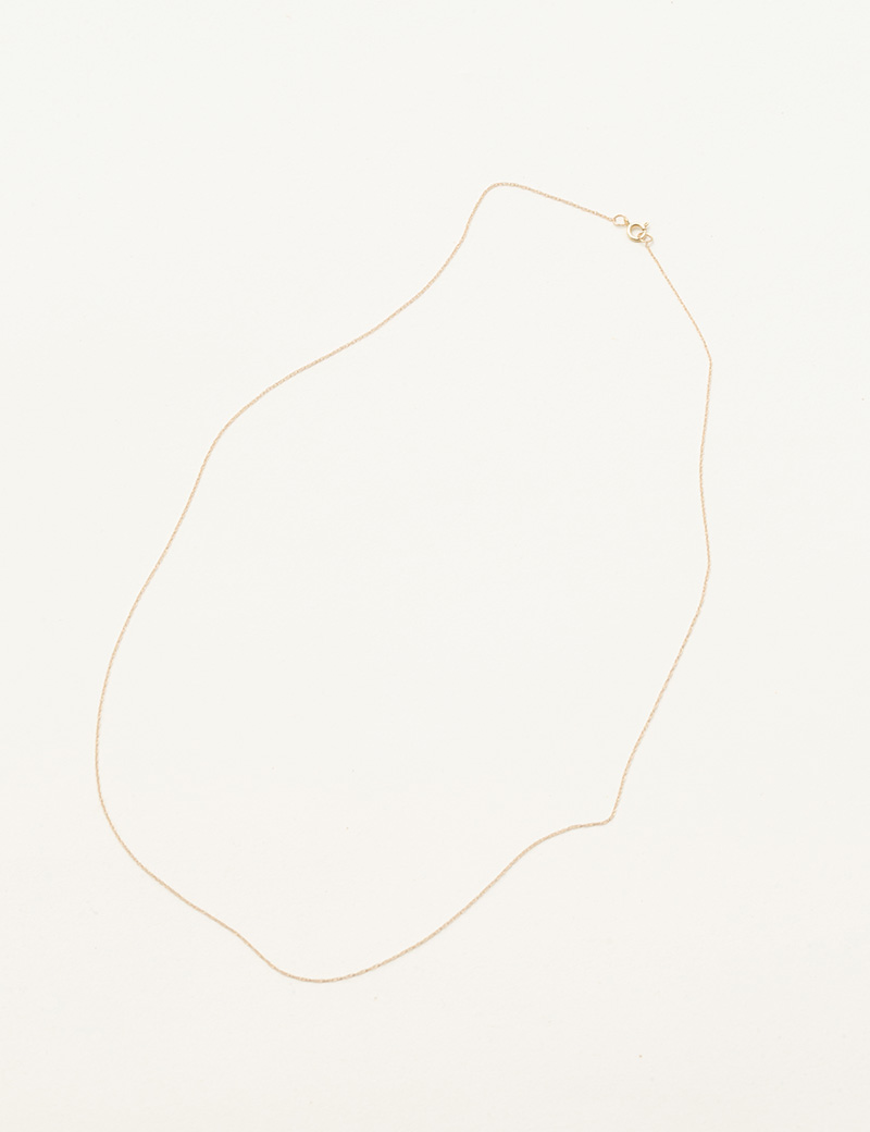 Kathleen Whitaker Thin Chain Necklace delicate
