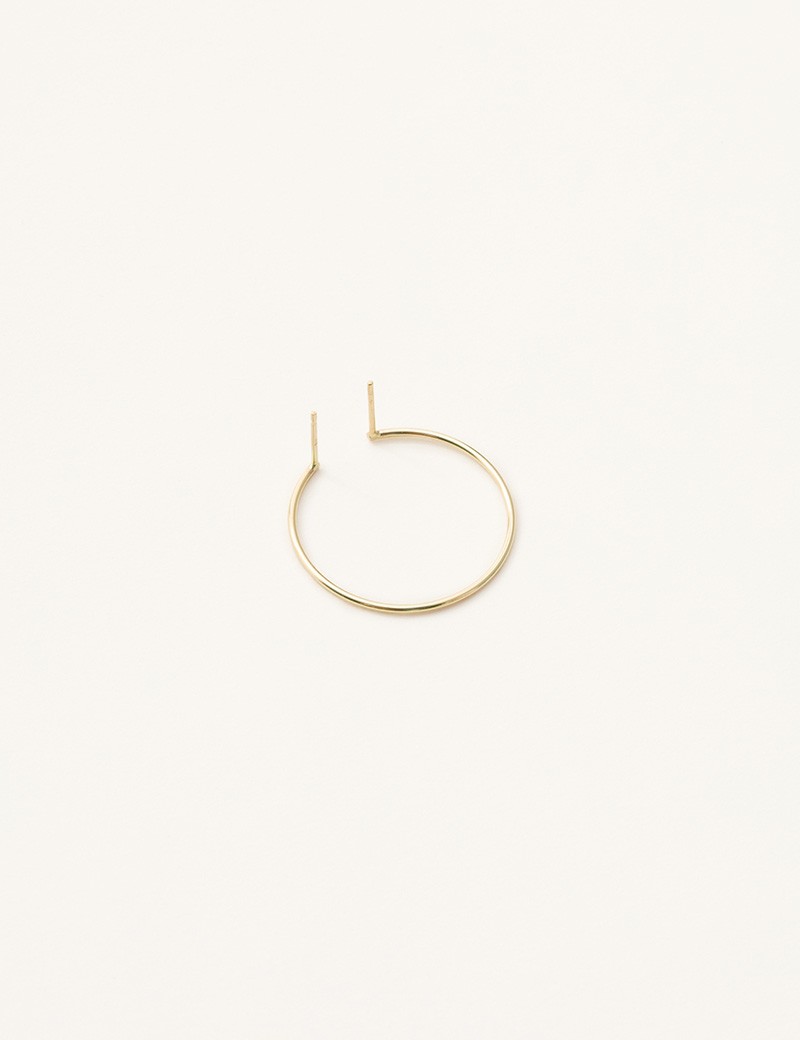 Kathleen Whitaker Double Post Hoop Earring 1