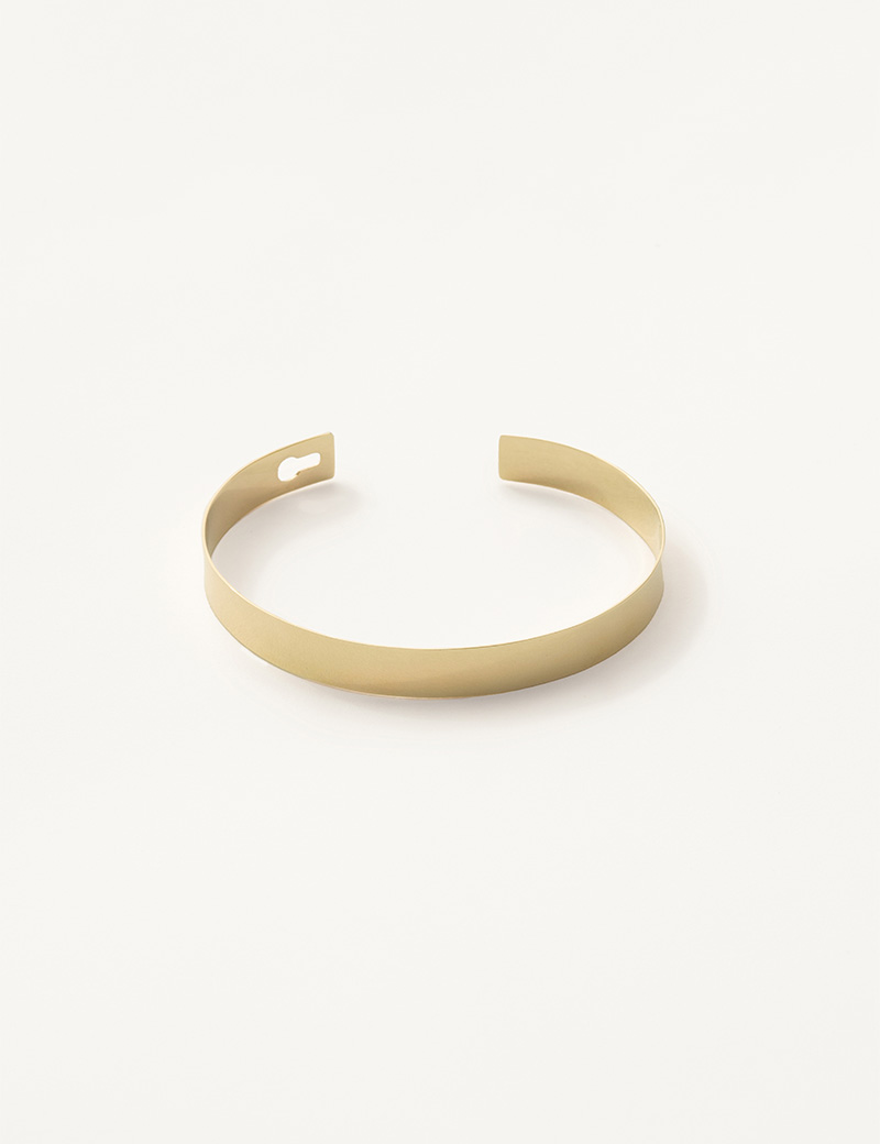 Kathleen Whitaker Flat Catch Bangle open