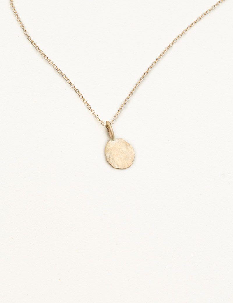 Kathleen Whitaker Foil Pendant Necklace