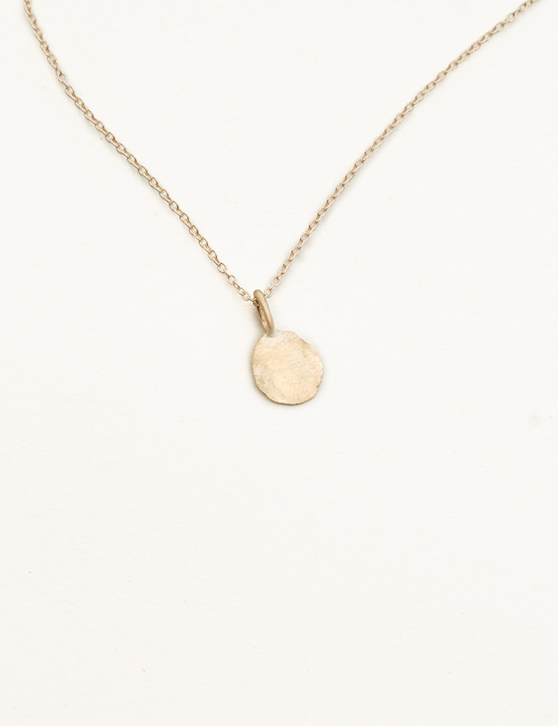 Kathleen Whitaker Foil Necklace