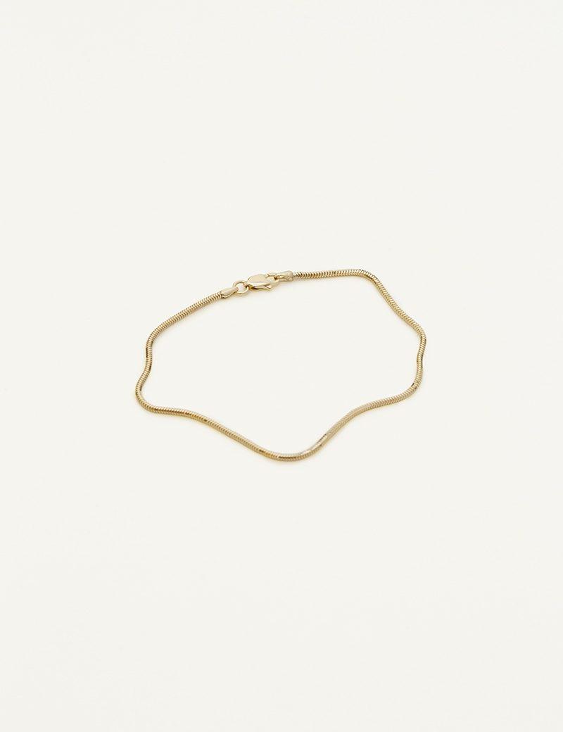 Kathleen Whitaker Snake Chain Bracelet