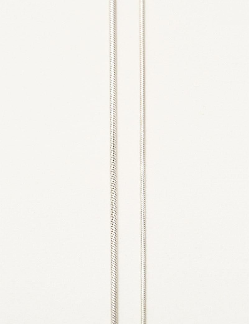 Kathleen Whitaker Snake Chain widths
