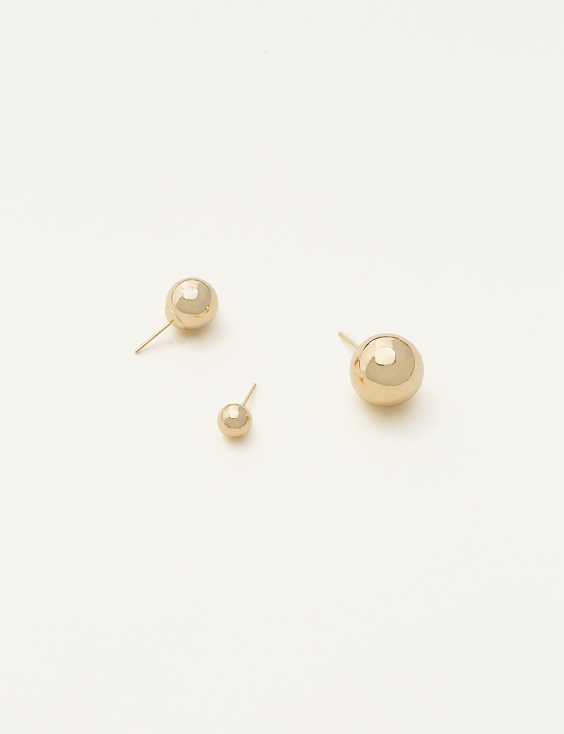 Kathleen Whitaker Sphere Studs All Sizes