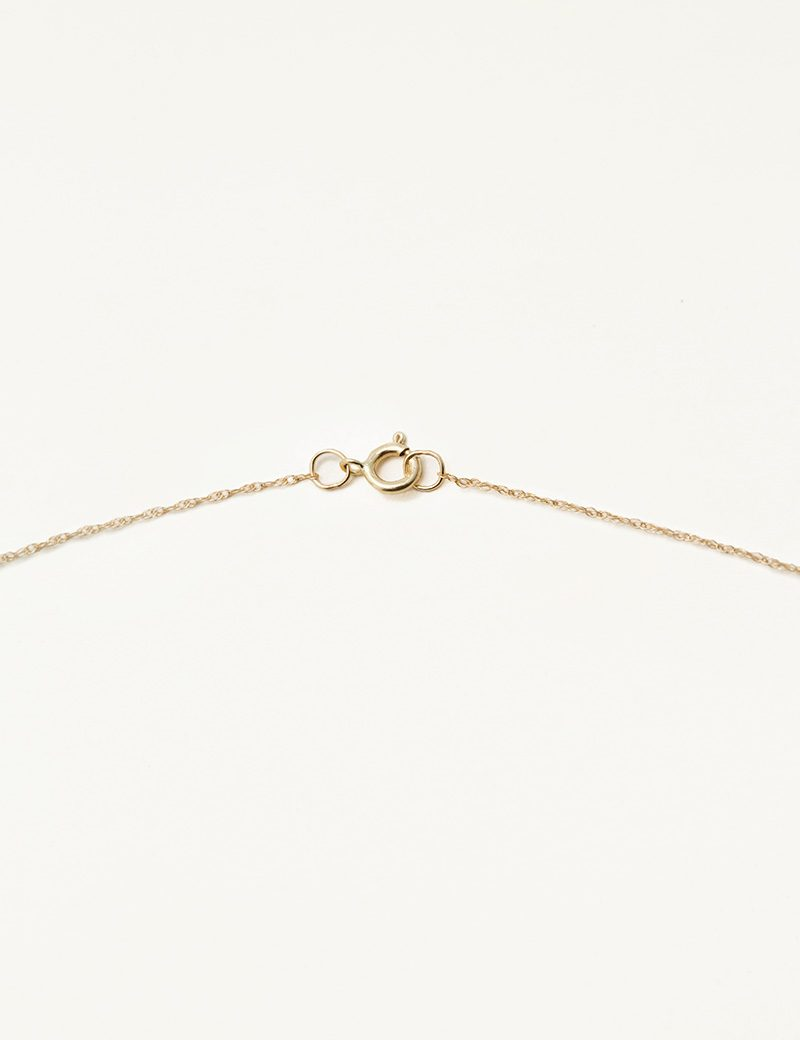 Kathleen Whitaker Thin Chain Necklace with Clasp