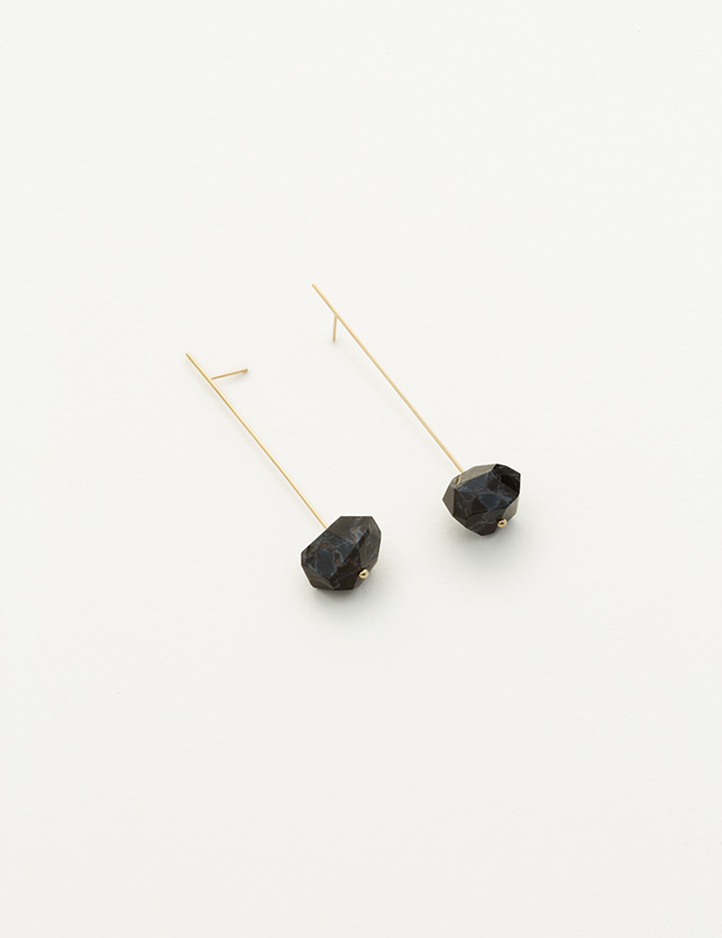 Kathleen Whitaker Pietersite on Strand Earrings