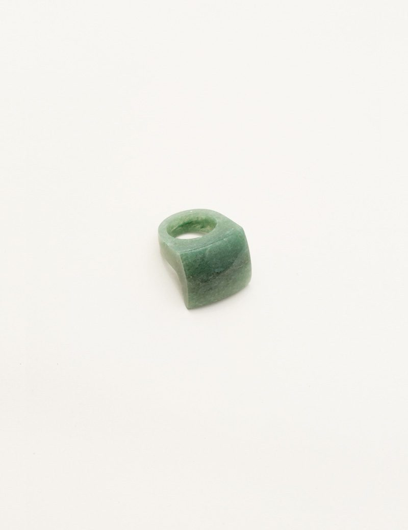 Kathleen Whitaker Aventurine Rock Ring