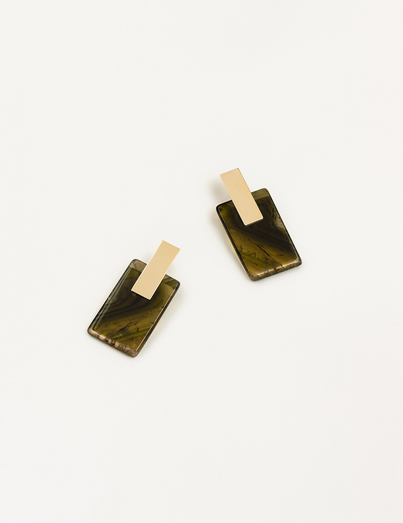 Kathleen Whitaker Tourmaline Earrings with Plane1